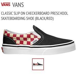 Vans checkerboard slip ons Women's 7.5 Never worn